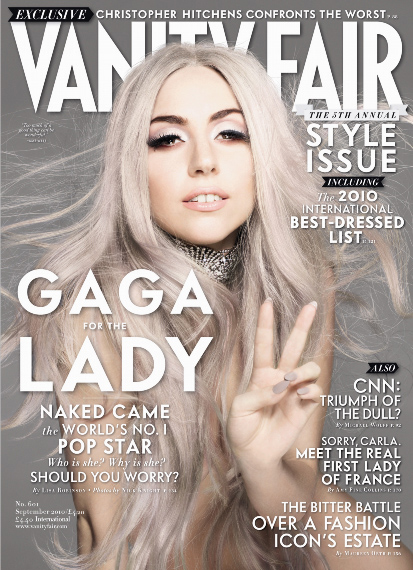 Lady Gaga on Vanity Fair